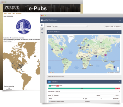 Author Dashboard
